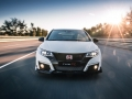 Avant Honda Civic Type R photo officielle