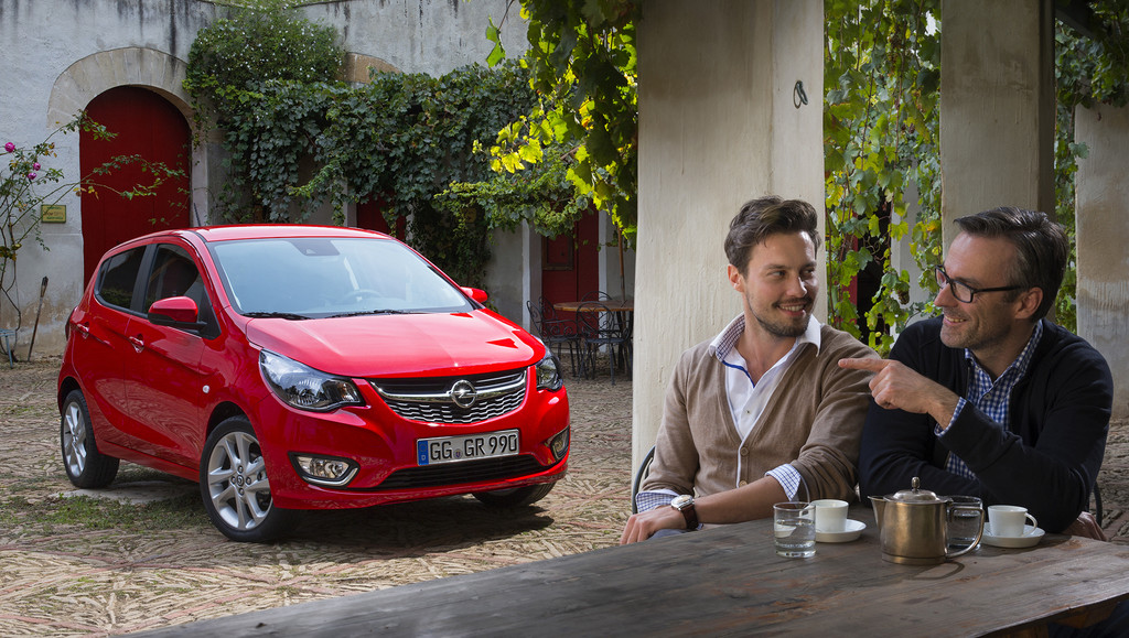 nouvelle Opel Karl 2015