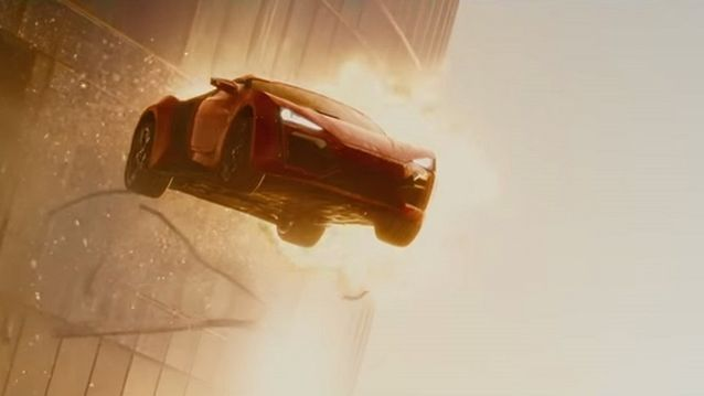 Lykan Hypersport 2015 dans Fast and Furious 7