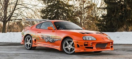 Fast and Furious Toyota Supra de Paul Walker