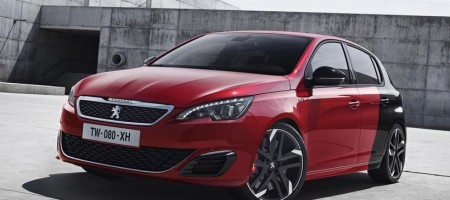 Photo officielle de la Peugeot 308 GTi 2015