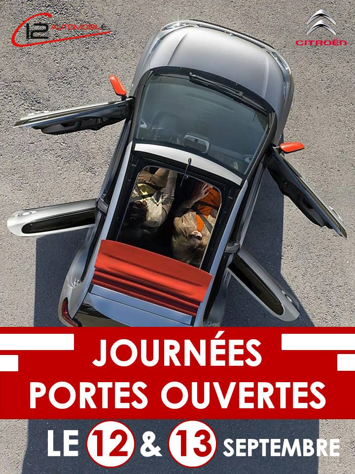 Citro n c12 automobile journ es portes ouvertes for Porte ouverte citroen