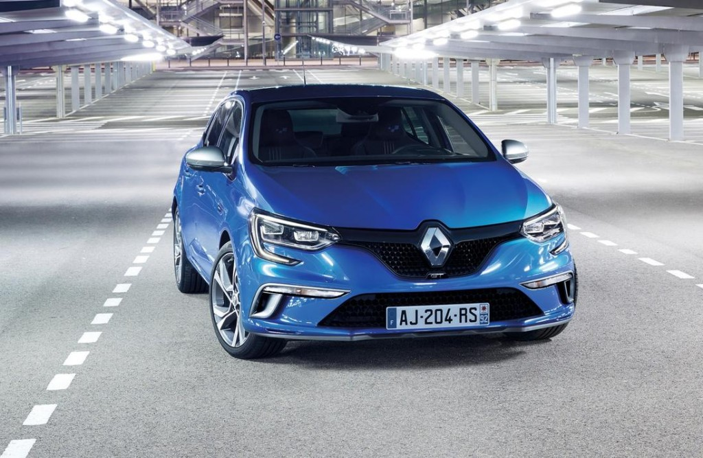 Photo officielle Renault Mégane 4