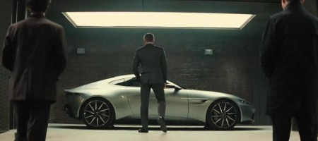 Aston Martin DB10 dans le film James Bond Spectre