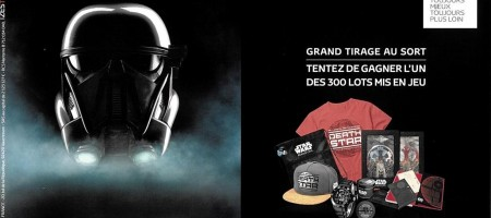 Grand tirage au sort Star Wars Rogue One Toyota C-HR