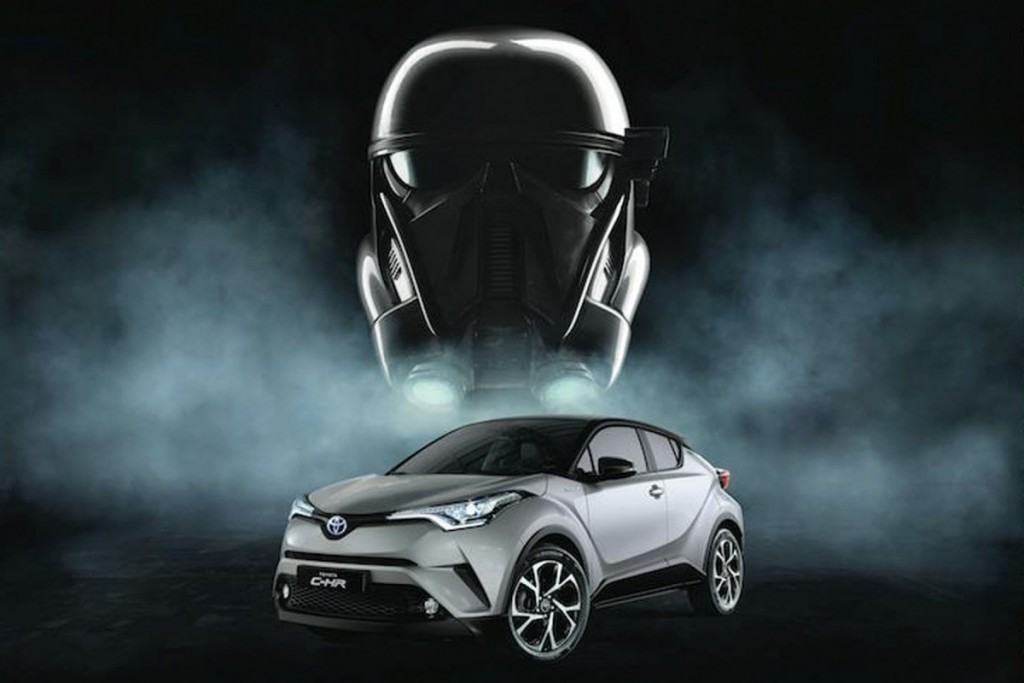 Toyota C-HR : Rogue One Star Wars