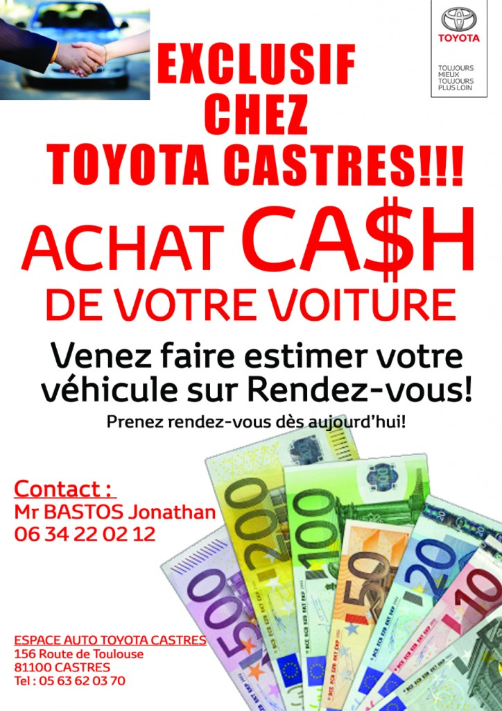 toyota castres achat cash de votre voiture blog maurel auto. Black Bedroom Furniture Sets. Home Design Ideas
