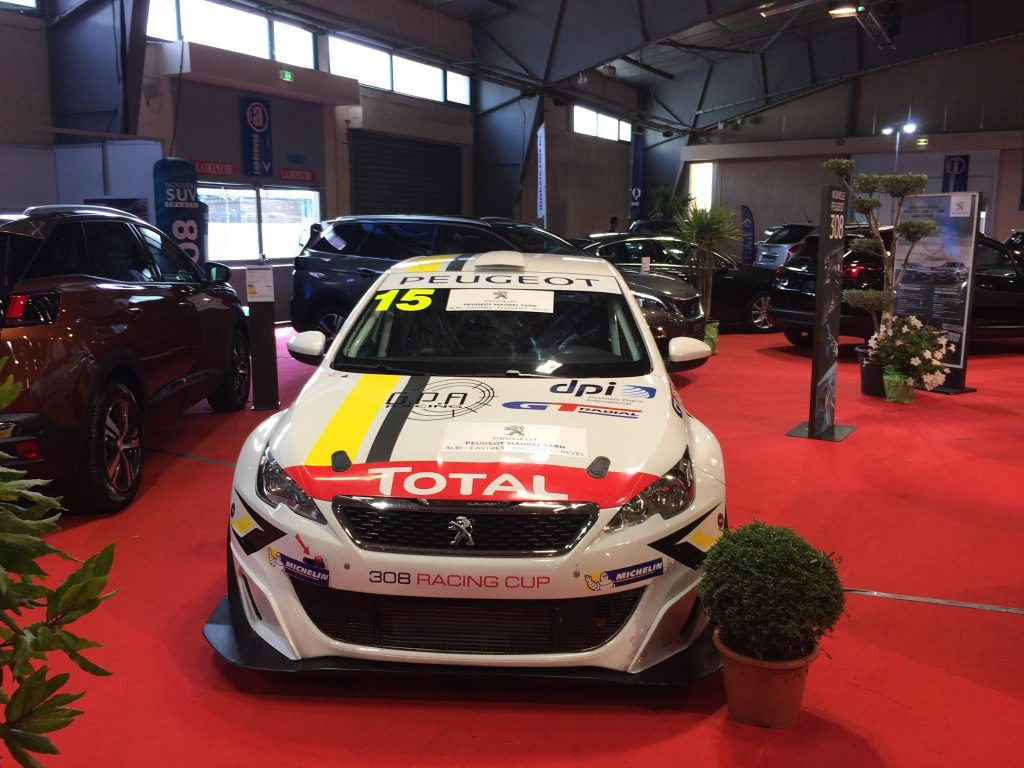 Salon auto Albi 2017 : Peugeot 308 Racing Cup