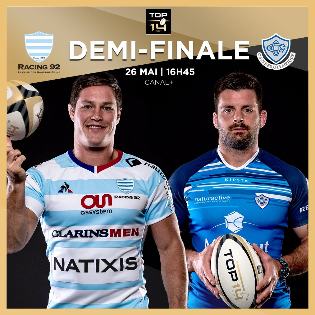 Demi-finale Castres Olympique - Racing 92